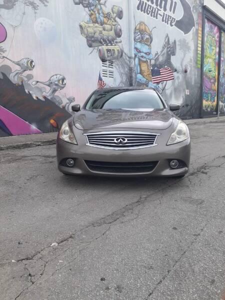 2011 Infiniti G37 Sedan for sale at Rosa's Auto Sales in Miami FL