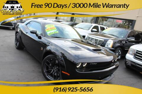 2019 Dodge Challenger for sale at West Coast Auto Sales Center in Sacramento CA