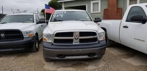 2011 RAM Ram Pickup 1500 for sale at Sissonville Used Cars in Charleston WV