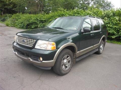 2002 Ford Explorer for sale at CASTLE AUTO AUCTION INC. in Scranton PA