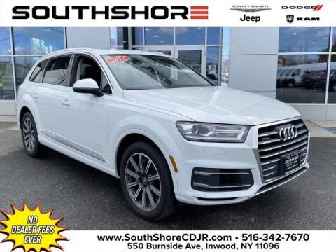 2017 Audi Q7 for sale at South Shore Chrysler Dodge Jeep Ram in Inwood NY
