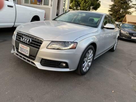 2011 Audi A4 for sale at Ronnie Motors LLC in San Jose CA