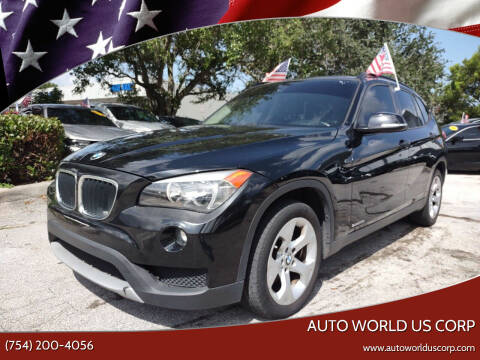 2014 BMW X1 for sale at Auto World US Corp in Plantation FL