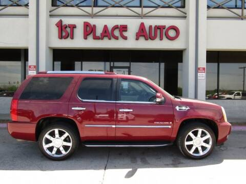 2007 Cadillac Escalade for sale at First Place Auto Ctr Inc in Watauga TX