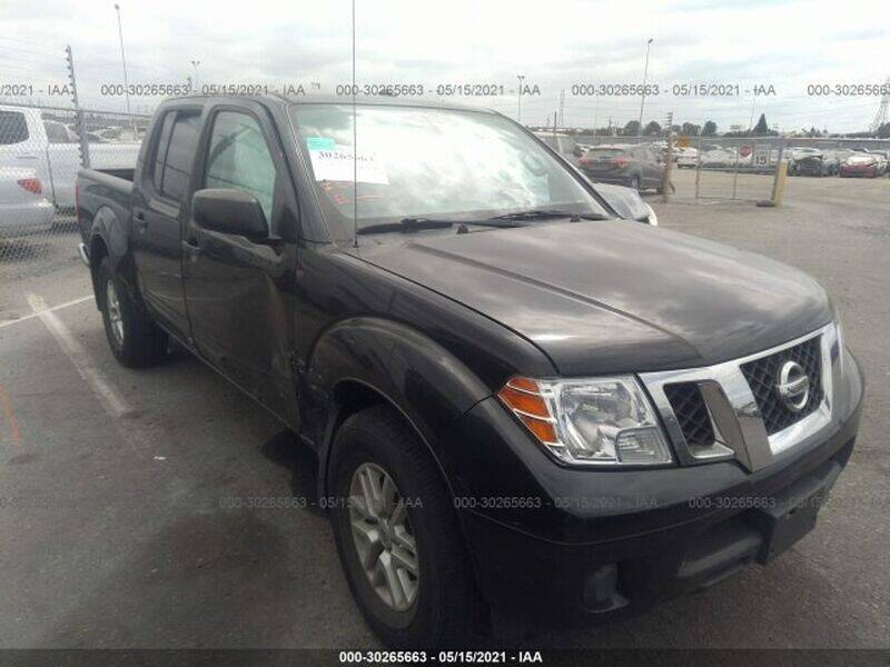 2017 Nissan Frontier for sale at Ournextcar/Ramirez Auto Sales in Downey CA