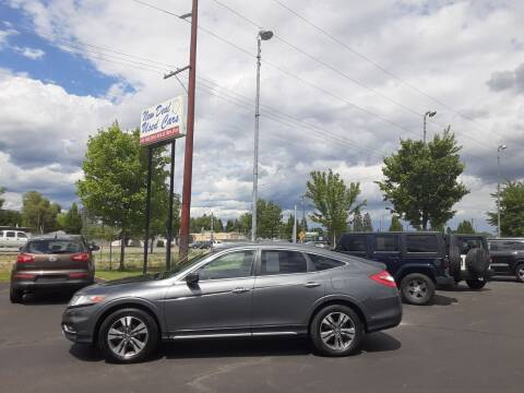 2013 Honda Crosstour for sale at New Deal Used Cars in Spokane Valley WA