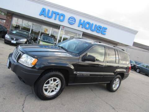 2004 Jeep Grand Cherokee for sale at Auto House Motors in Downers Grove IL