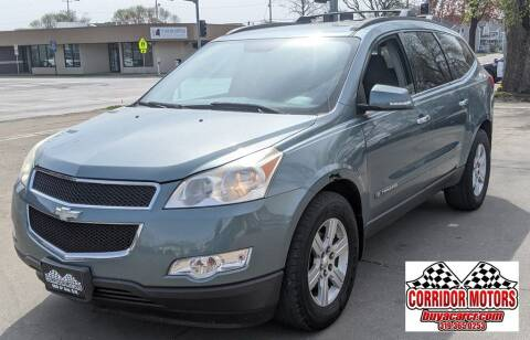 2009 Chevrolet Traverse for sale at Corridor Motors in Cedar Rapids IA