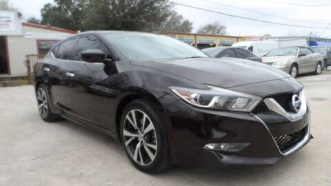 2016 Nissan Maxima for sale at Exhibit Sport Motors in Houston TX