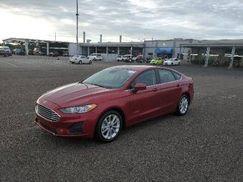 2019 Ford Fusion Hybrid for sale at Florida Fine Cars - West Palm Beach in West Palm Beach FL