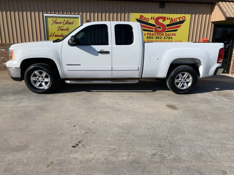 2009 GMC Sierra 1500 for sale at BIG 'S' AUTO & TRACTOR SALES in Blanchard OK