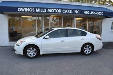 2009 Nissan Altima for sale at Owings Mills Motor Cars in Owings Mills MD
