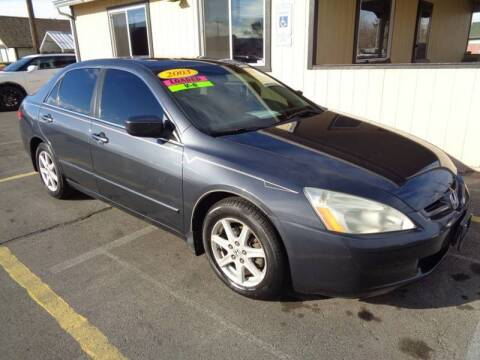 2003 Honda Accord for sale at BBL Auto Sales in Yakima WA