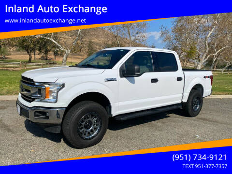 2019 Ford F-150 for sale at Inland Auto Exchange in Norco CA