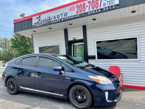 2012 Toyota Prius for sale at Farris Auto - Main Street in Stoughton WI