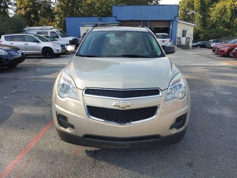 2012 Chevrolet Equinox for sale at Adonai Auto Broker in Marietta GA