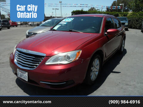 2013 Chrysler 200 for sale at Car City Ontario in Ontario CA