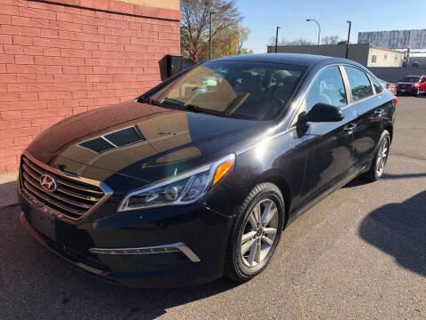2015 Hyundai Sonata for sale at Nice Cars Auto Inc in Minneapolis MN