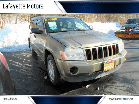 2006 Jeep Grand Cherokee for sale at Lafayette Motors 2 in Andover NJ