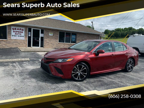 2018 Toyota Camry for sale at Sears Superb Auto Sales in Corbin KY