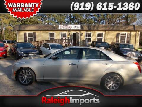 2016 Cadillac CTS for sale at Raleigh Imports in Raleigh NC