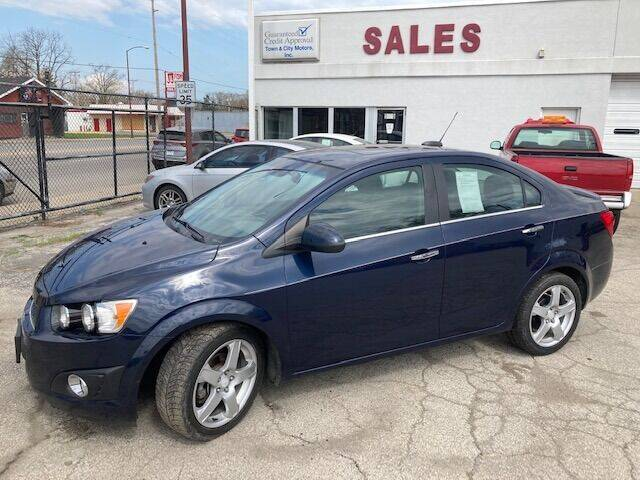 2015 Chevrolet Sonic for sale at Town & City Motors Inc. in Gary IN