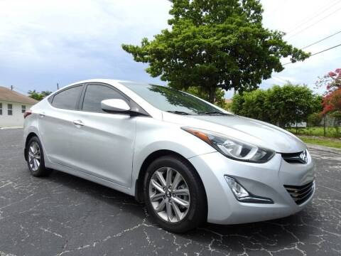 2015 Hyundai Elantra for sale at SUPER DEAL MOTORS 441 in Hollywood FL