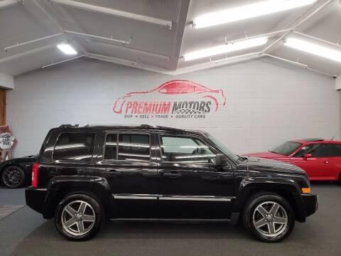 2009 Jeep Patriot for sale at Premium Motors in Villa Park IL