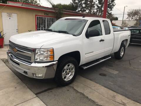 2012 Chevrolet Silverado 1500 for sale at Auto Emporium in Wilmington CA
