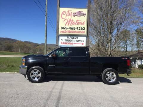 2017 Chevrolet Silverado 2500HD for sale at City Motors in Mascot TN