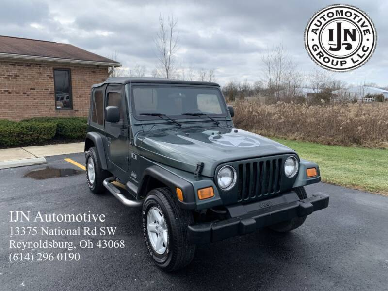 2004 Jeep Wrangler for sale at IJN Automotive Group LLC in Reynoldsburg OH