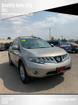 2010 Nissan Murano for sale at Quality Auto City Inc. in Laramie WY