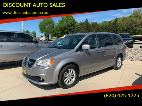 2018 Dodge Grand Caravan for sale at DISCOUNT AUTO SALES in Mountain Home AR