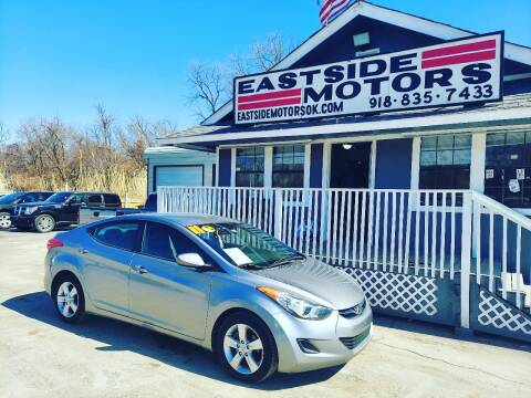 2011 Hyundai Elantra for sale at EASTSIDE MOTORS in Tulsa OK