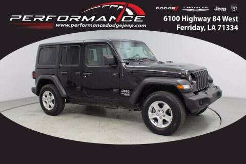 2020 Jeep Wrangler Unlimited for sale at Performance Dodge Chrysler Jeep in Ferriday LA