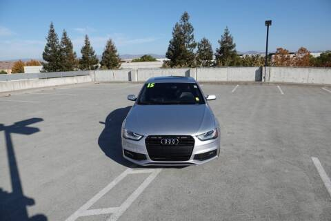 2015 Audi A4 for sale at BAY AREA CAR SALES 2 in San Jose CA