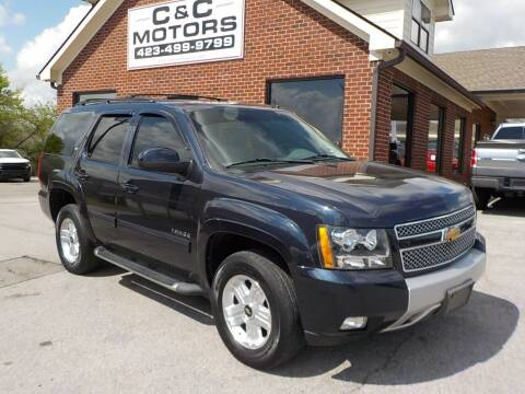 2013 Chevrolet Tahoe for sale at C & C MOTORS in Chattanooga TN
