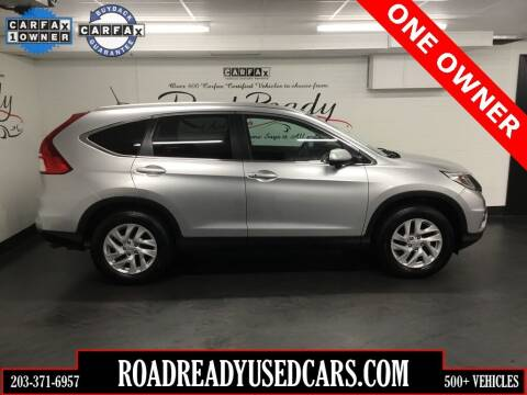 2015 Honda CR-V for sale at Road Ready Used Cars in Ansonia CT