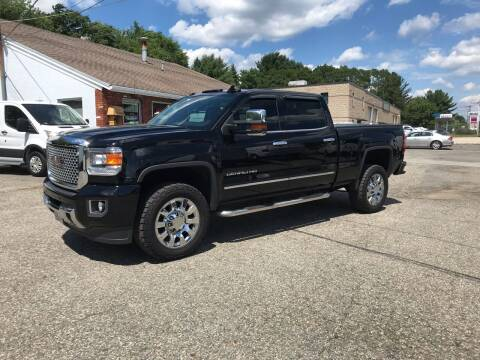 2016 GMC Sierra 2500HD for sale at J.W.P. Sales in Worcester MA