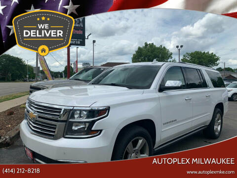 2016 Chevrolet Suburban for sale at Autoplex 2 in Milwaukee WI