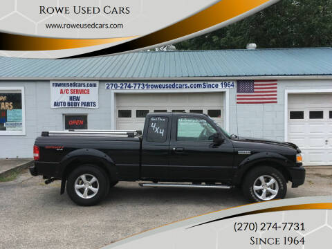 2007 Ford Ranger for sale at Rowe Used Cars in Beaver Dam KY
