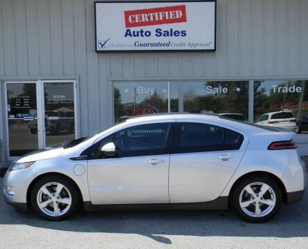 2015 Chevrolet Volt for sale at Certified Auto Sales in Des Moines IA