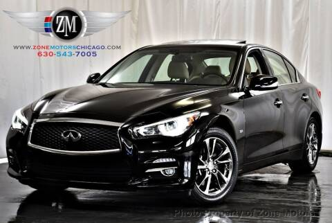 2017 Infiniti Q50 for sale at ZONE MOTORS in Addison IL