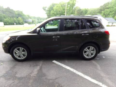 2011 Hyundai Santa Fe for sale at West End Auto Sales LLC in Richmond VA