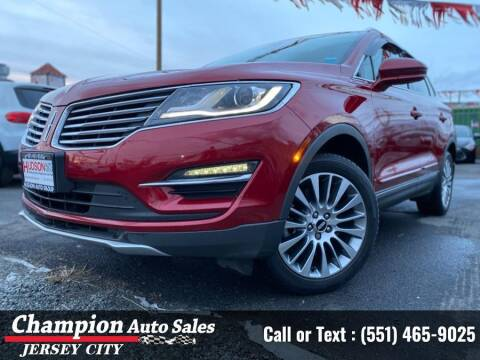 2017 Lincoln MKC for sale at CHAMPION AUTO SALES OF JERSEY CITY in Jersey City NJ