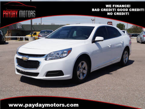 2016 Chevrolet Malibu Limited for sale at Payday Motors dba Autostart in Topeka KS