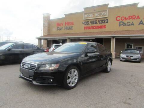 2010 Audi A4 for sale at Import Motors in Bethany OK
