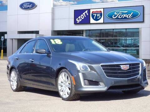 2018 Cadillac CTS for sale at Szott Ford in Holly MI