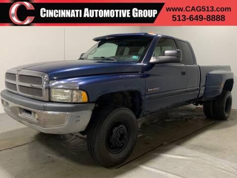 2001 Dodge Ram Pickup 3500 for sale at Cincinnati Automotive Group in Lebanon OH
