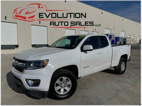 2017 Chevrolet Colorado for sale at Evolution Auto Sales LLC in Springville UT